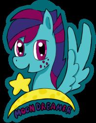Moon Dreamer Headshot Badge