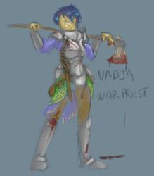 Nadja's War(priest) Face