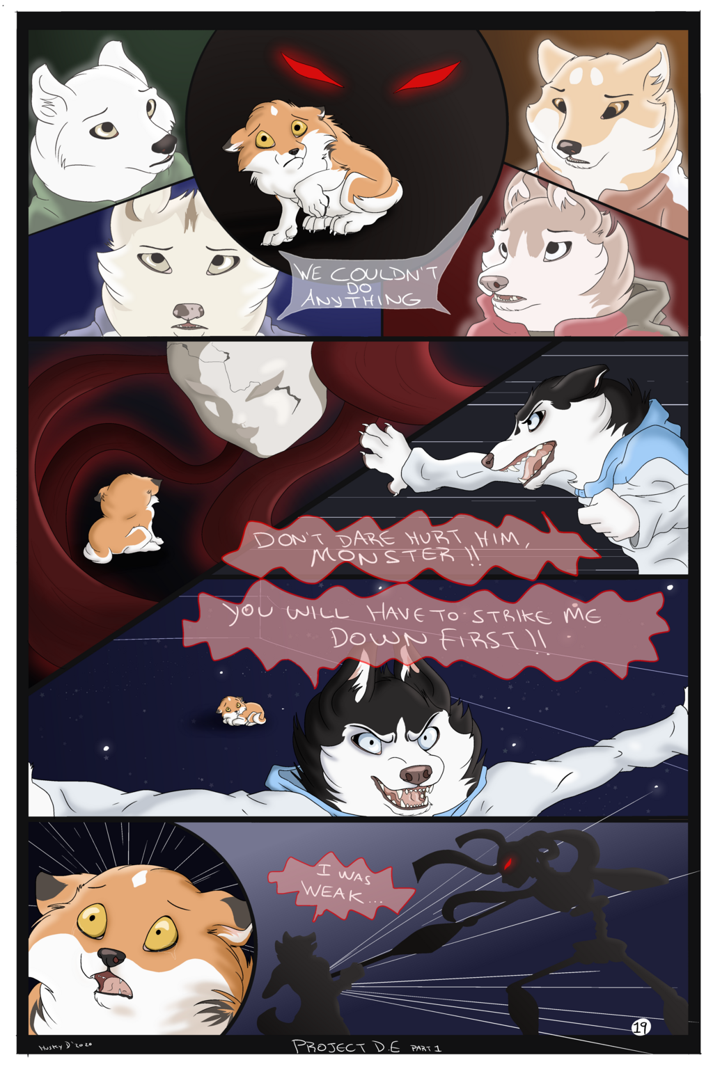 Project D.E -Comic Part 1- (Page 19)