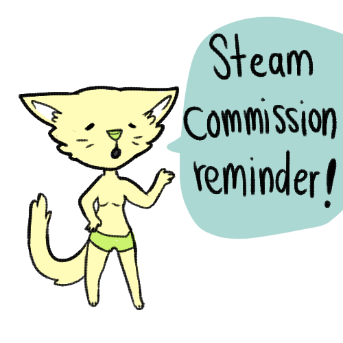 Steam Commissions CLOSED