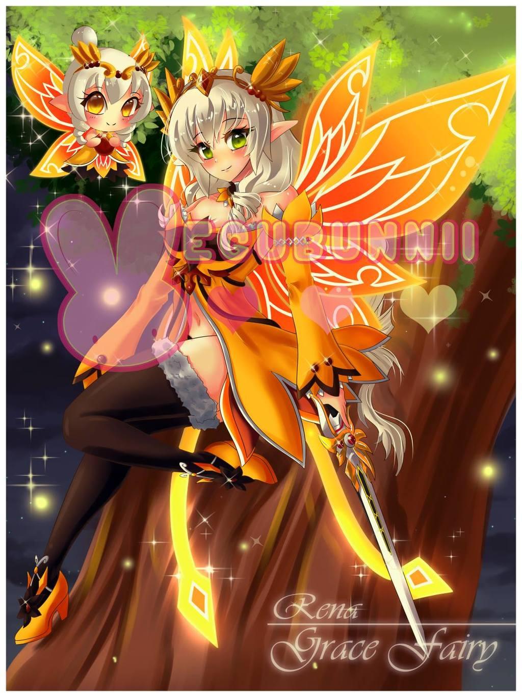 Most recent image: :Elsword: Rena Grace Fairy