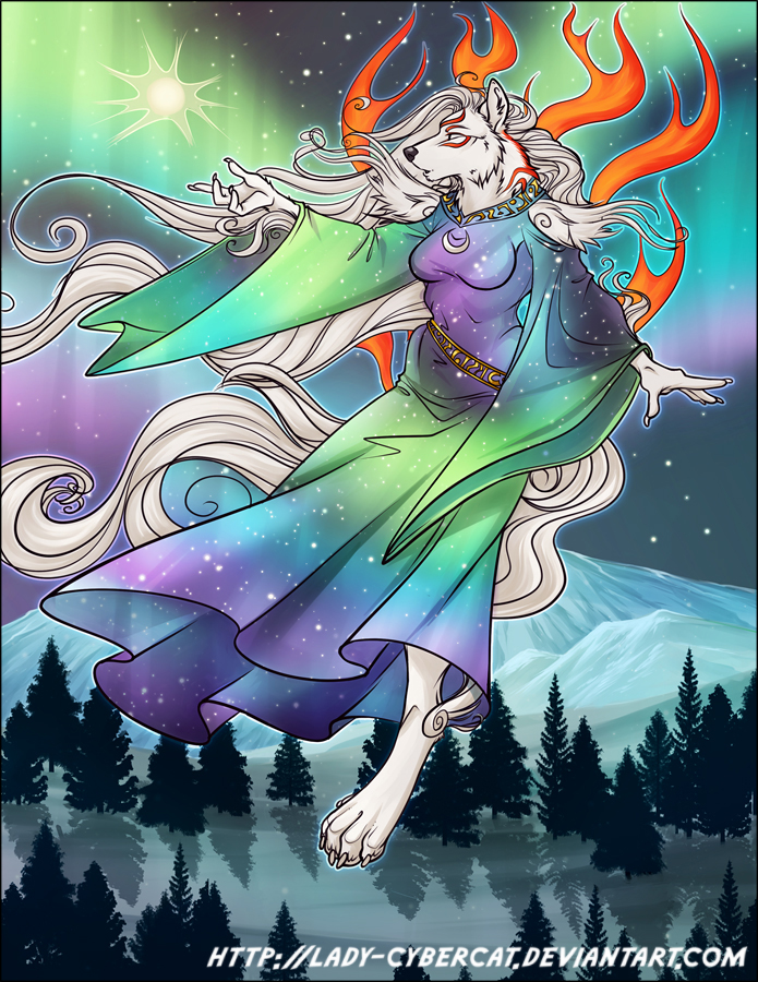 Most recent image: TLDragon's Okami Aurora Commission
