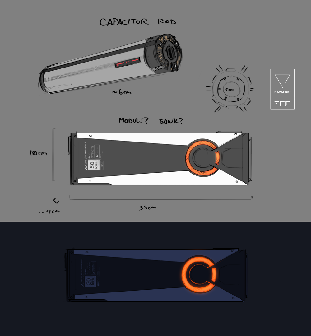 Supercapacitor sketches