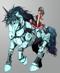 Robo Unicorn of Awesome