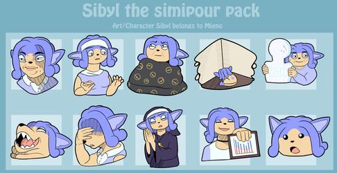 Sibyl sticker