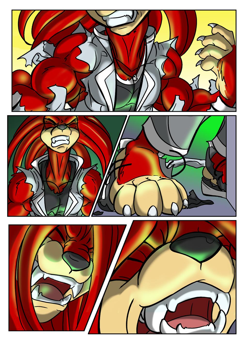 Knuckles TF Comic 03 - By Blackrat