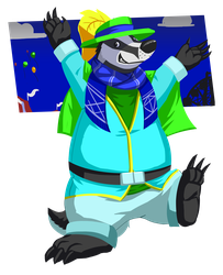 Happy Badger