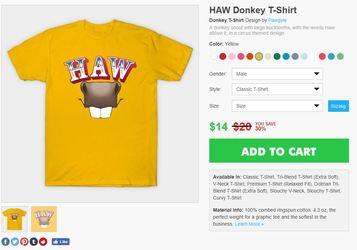 Haw donkey design