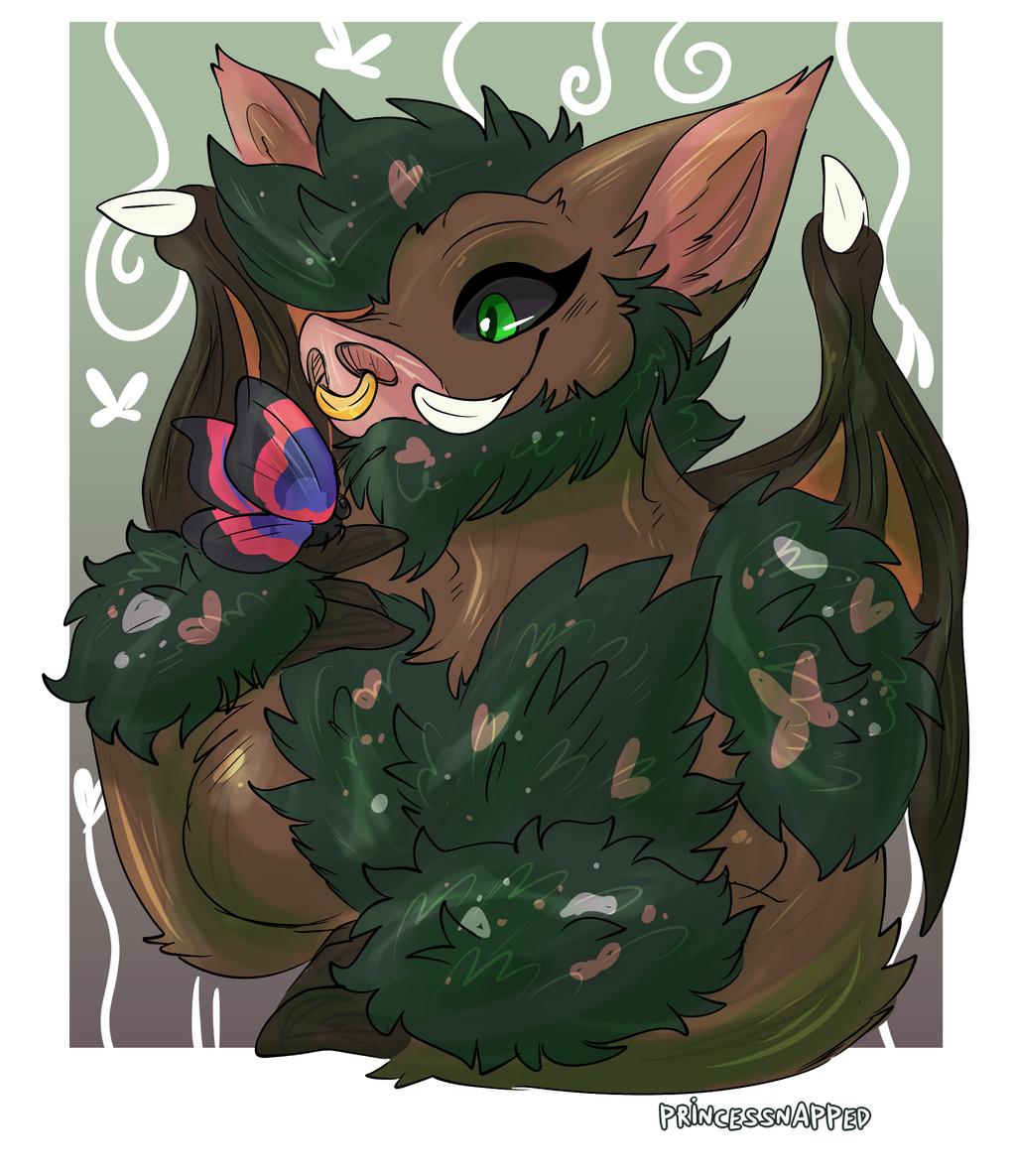 Boar has a new friend - Art by Princessnapped