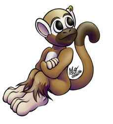 Casual monkey