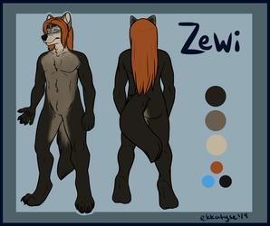 Ref sheet for Zewi
