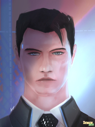 My name is Connor, I'm the speedpainting sent by Cyberlife.