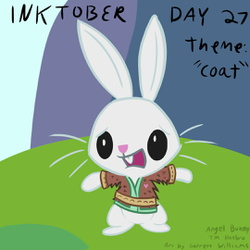 """Inktober Day 27: """"Coat"""""""
