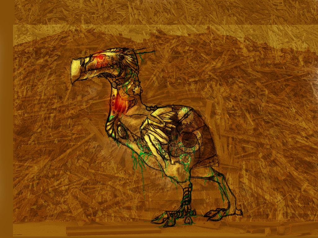 Steampunk Dodo