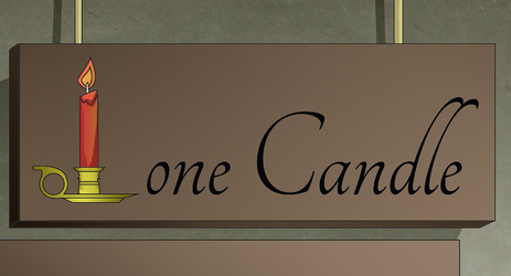 Lone Candle, Book 1, Page 2