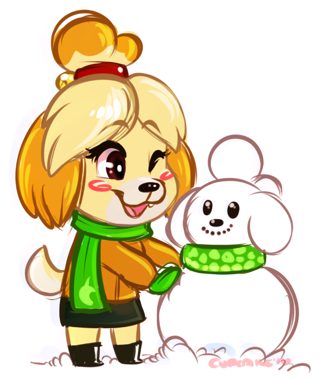 [sketch/doodle] Snow Isabelle!