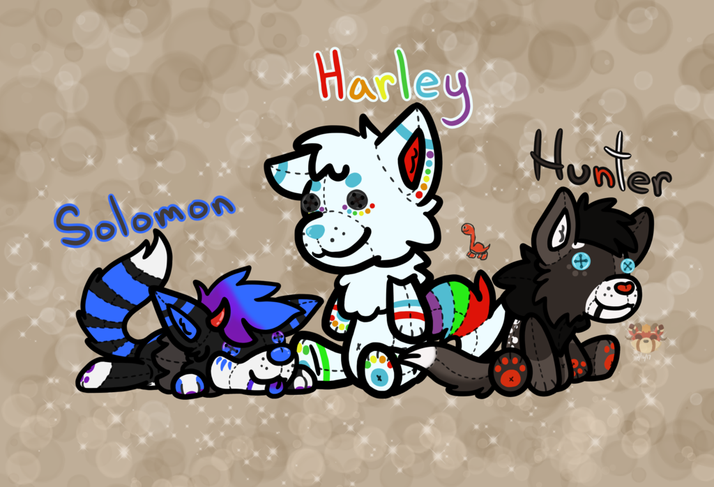 Most recent image: Stuffies~