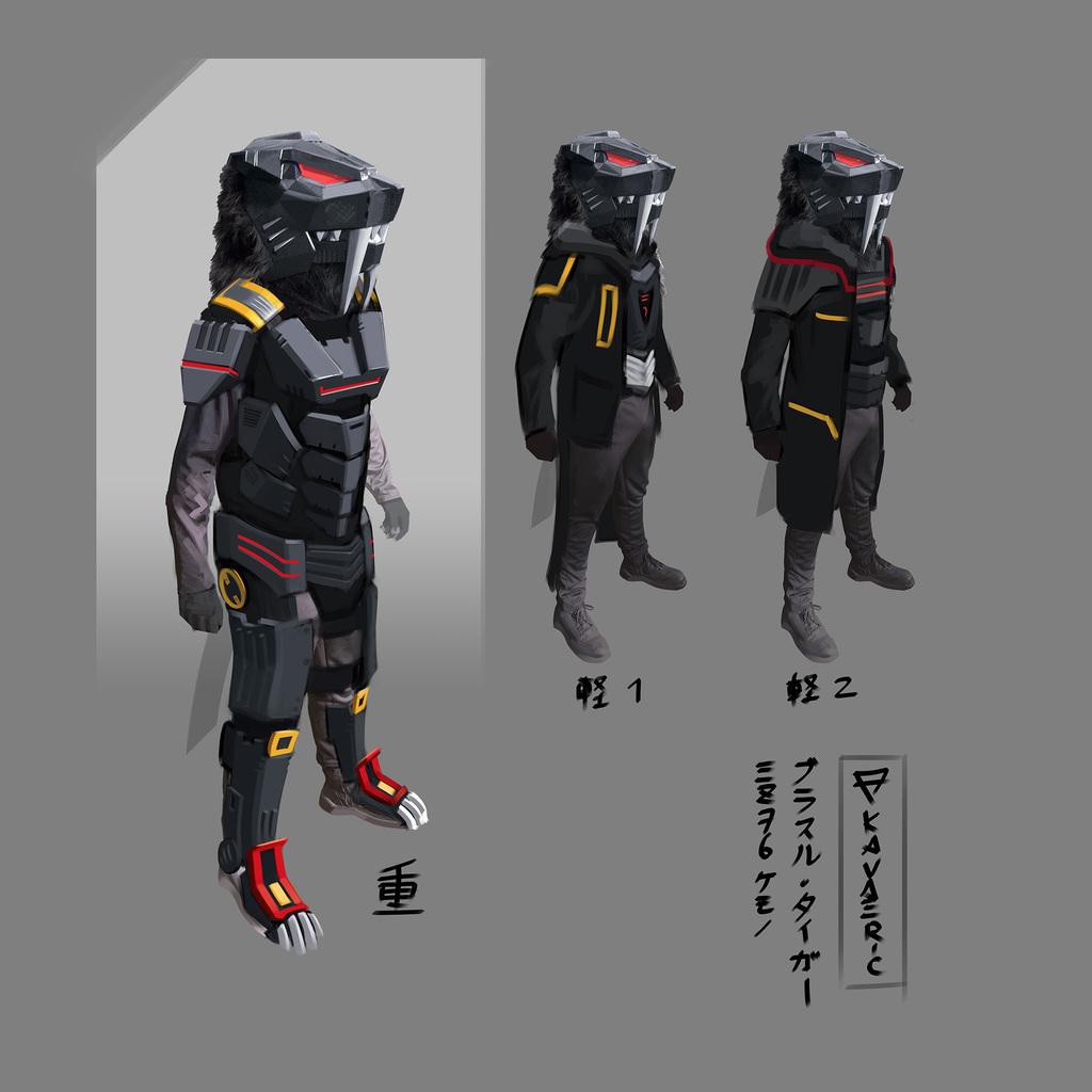 [COM] Brastle Tiger concept render