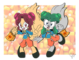 YukiCos - Halloween Commission 2