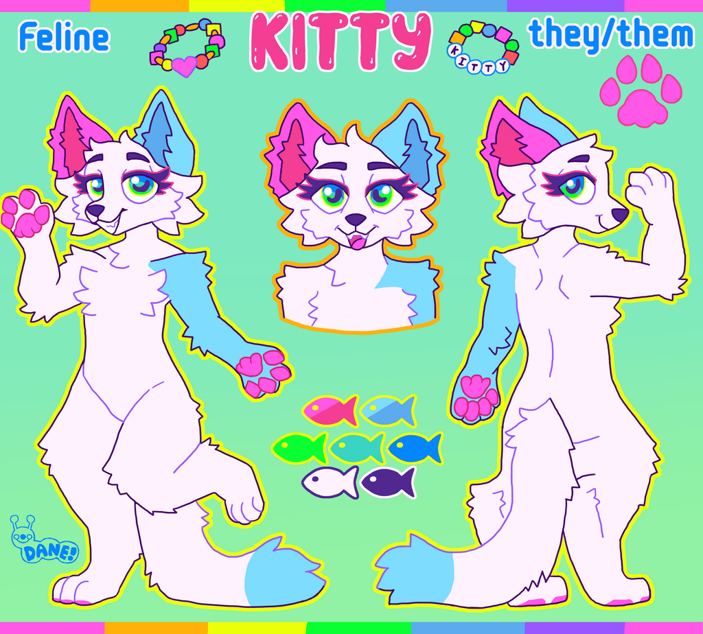 Kitty Reference Sheet Commission