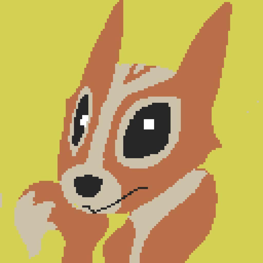 Pixel Art : Squirrel