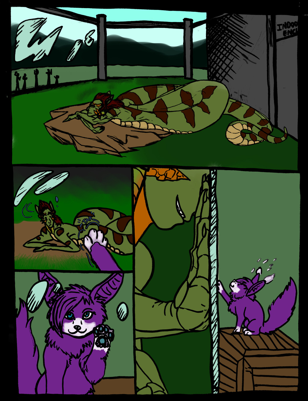 (FLUFF COMIC) Foxelot Friend