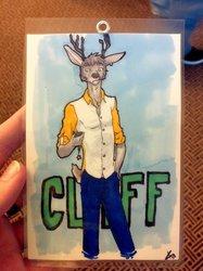Deer Badge