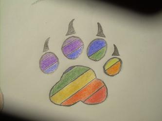 Colorfur Paw Print ^_^