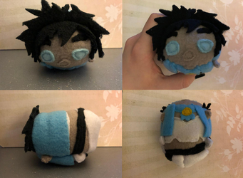 Black Clover Sol Marron Stacking Plush Commission