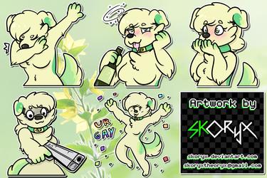 [CO] - MintyFresh stickers
