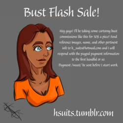 Bust Flash Sale!