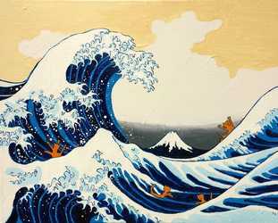 The Great Wave vs. Taurs