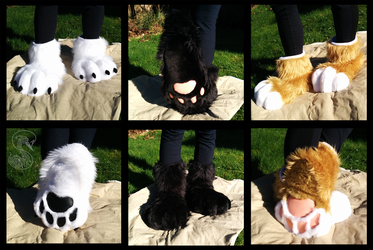 Soft Paws - Black pair FOR SALE
