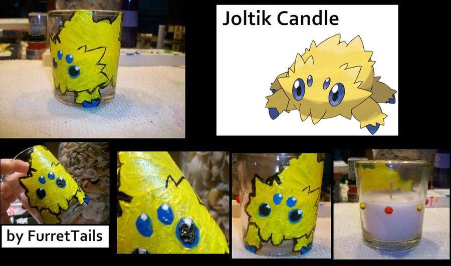 Joltik Candle