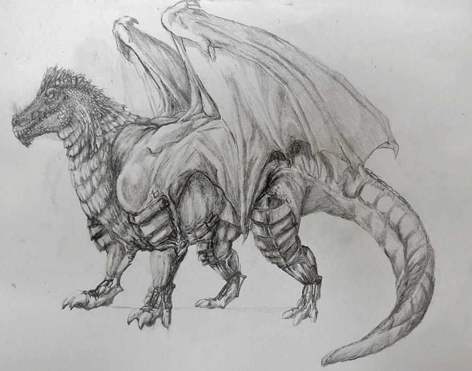 Most recent image: dragon