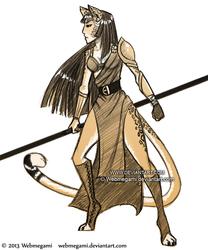 Felina warrior