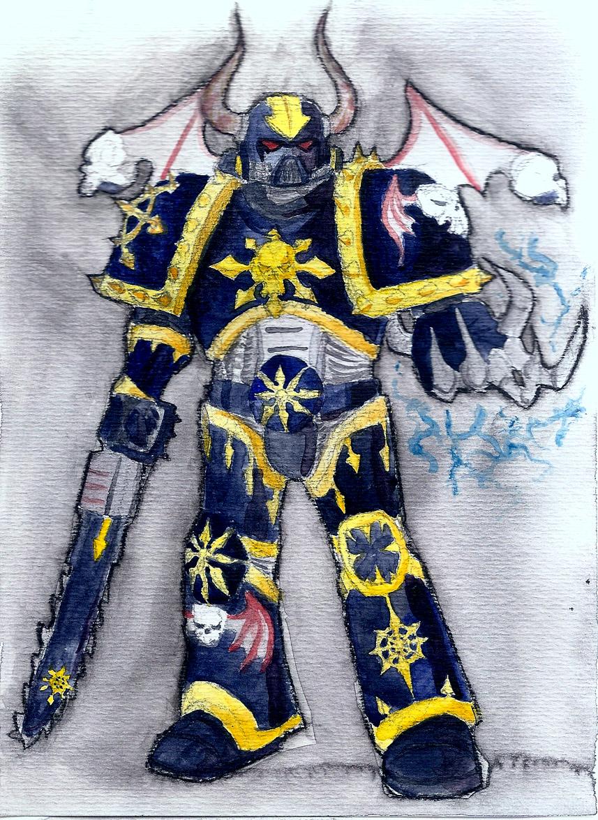 Night Lord Chaos Marine
