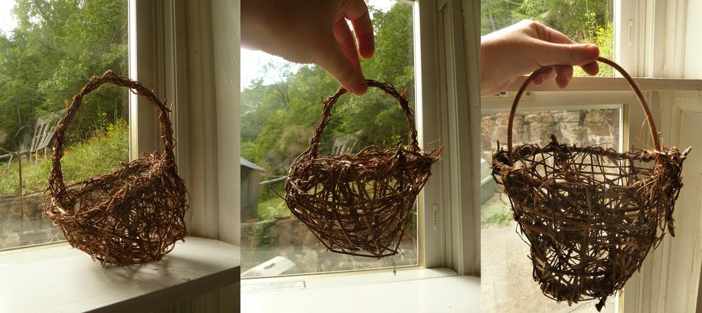 An Assortment of Vine Baskets