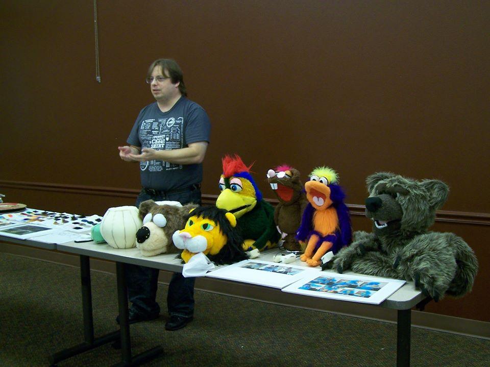 Suncoast Puppet Guild demo - Pic 2