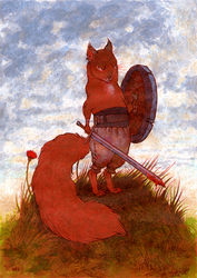 warrior squirrel