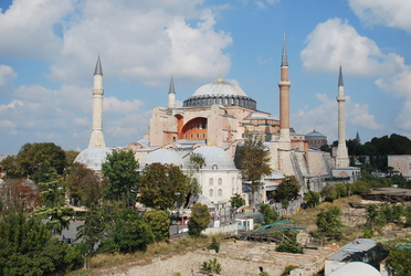 Mosque in old-town Istanbul