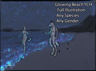 Glowing Beach YCH-CLOSED