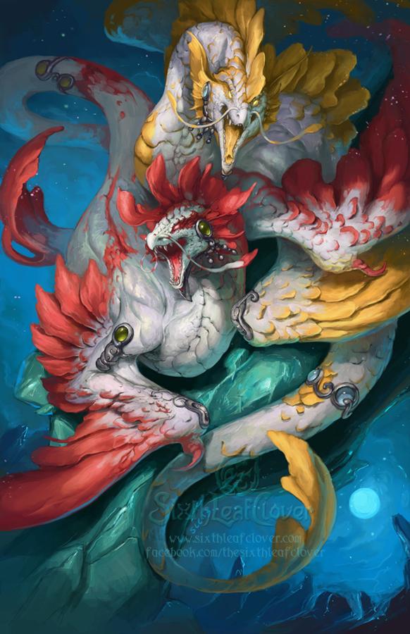 2014 Zodiac Dragons Pisces