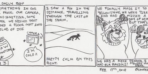 The Daily Beep - Yellowstone Trip 3
