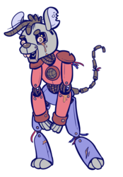 Commission: Marvin the Robot