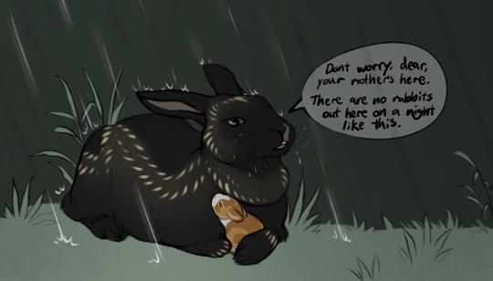 rainstorm snuggle