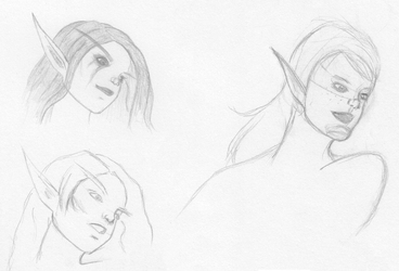 Elves Sketches