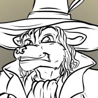 Garn the Gentleman Gnoll (Pathfinder character)