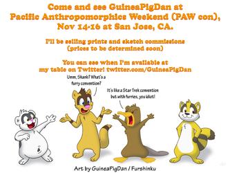 GuineaPigDan at Pacific Anthropomorphics Weekend