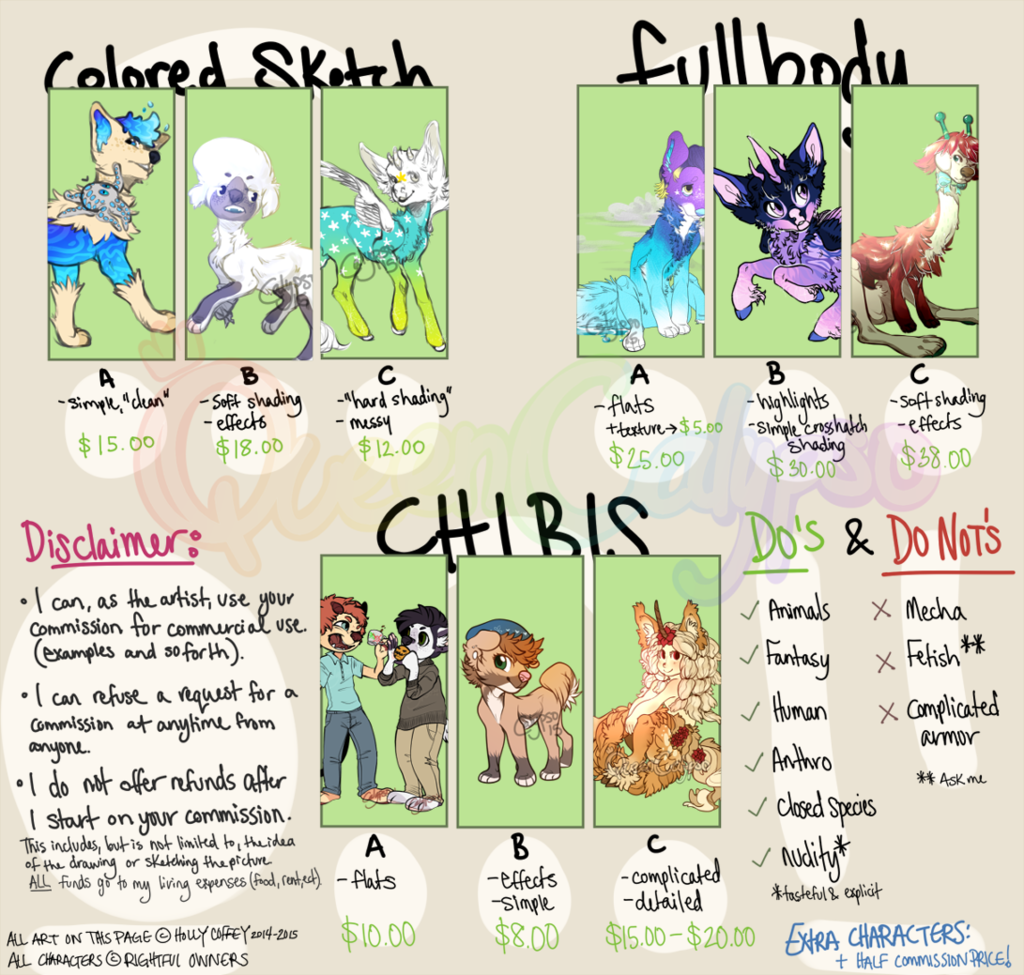 Most recent image: Commission Sheet 2015 (open)